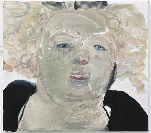 Marlene Dumas: Self Portrait at Noon